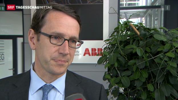 Video «ABB-Finanzchef nimmt Stellung» abspielen