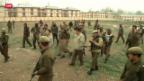 Video «Sieben Tote bei Selbstmordanschlag in Indien» abspielen