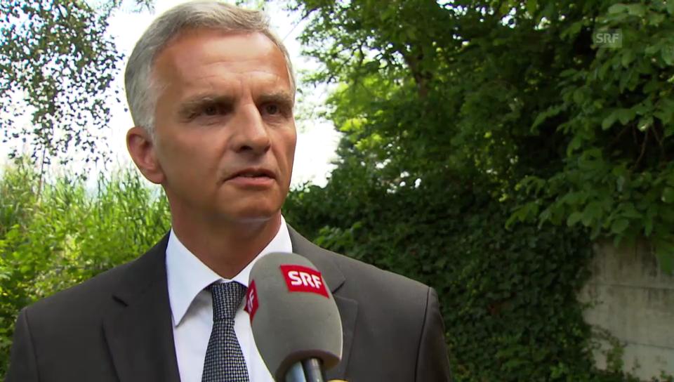Didier Burkhalter: «Wir befinden uns in einem Prozess»