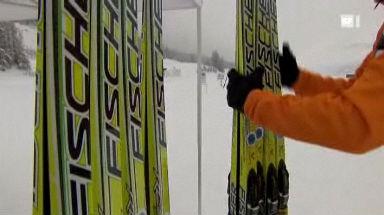 Video «19.01.2010: Langlauf-Skiwachs im Test» abspielen