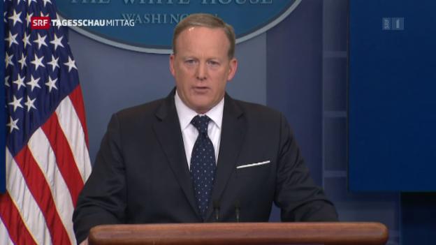 Video «Spicers Fehltritte bleiben unvergessen» abspielen