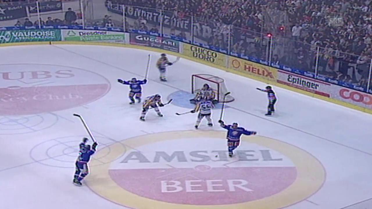 Eishockey: Playoff-Final 2001, Lugano - ZSC