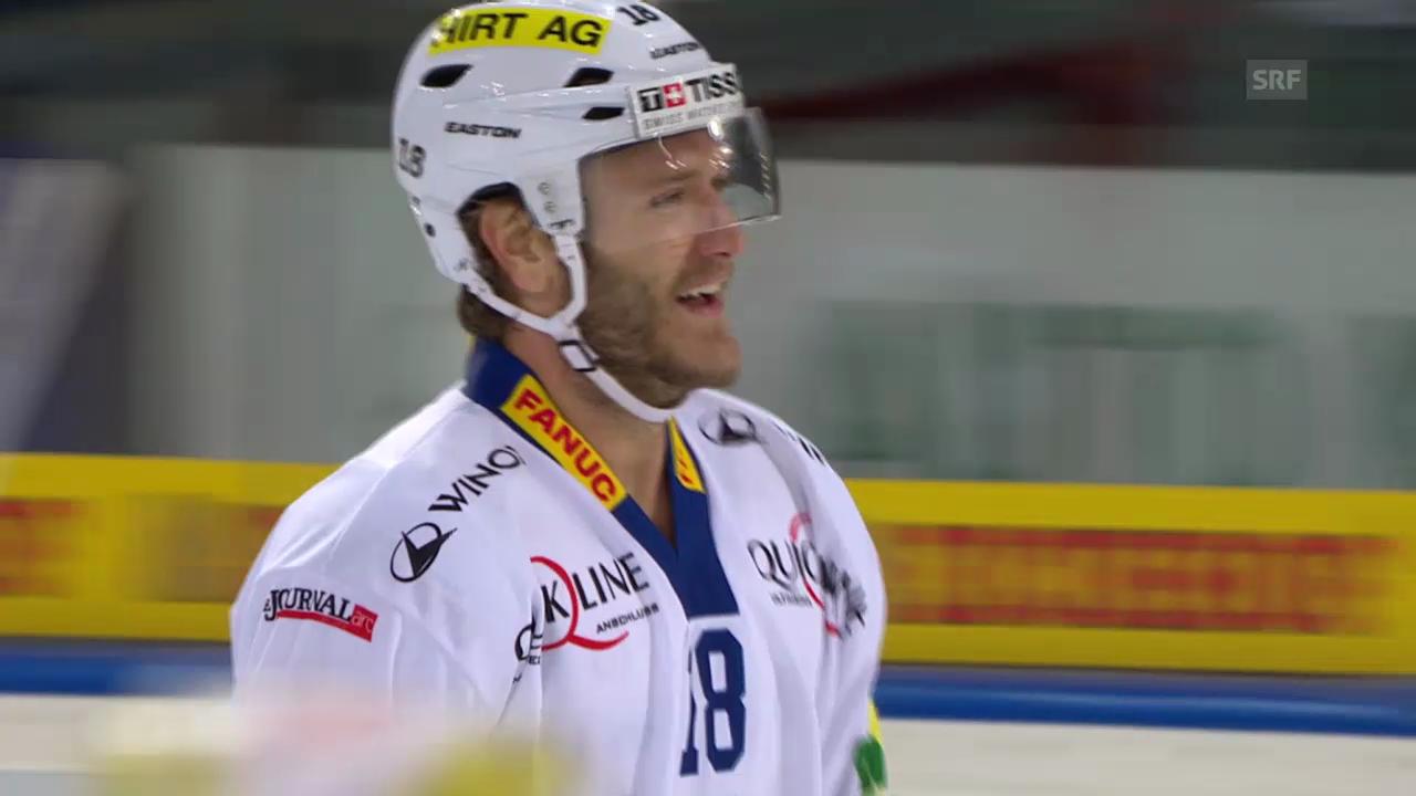 Eishockey: Alle Saisontore von Biels Ahren Spylo