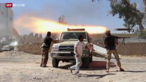Video «Gescheiterter Staat: Libyen kommt nicht zur Ruhe» abspielen