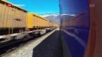 Video «Güterverkehr mit der Bahn wächst weiter» abspielen