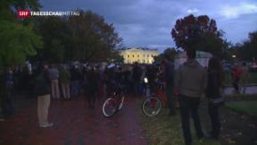 Video «Proteste nach der US-Wahl » abspielen