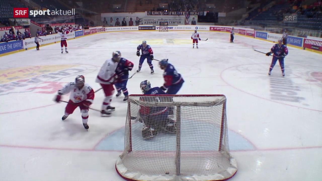 Eishockey: CHL, Kloten-Salzburg