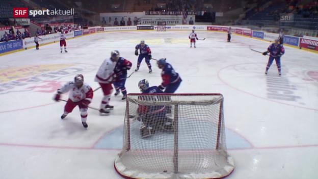 Video «Eishockey: CHL, Kloten-Salzburg» abspielen