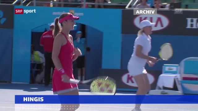 Tennis: Martina Hingis kehrt auf WTA-Tour zurück («sportaktuell»)