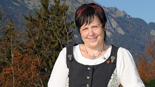 Rösli Wallimann und ihre erste Zither
