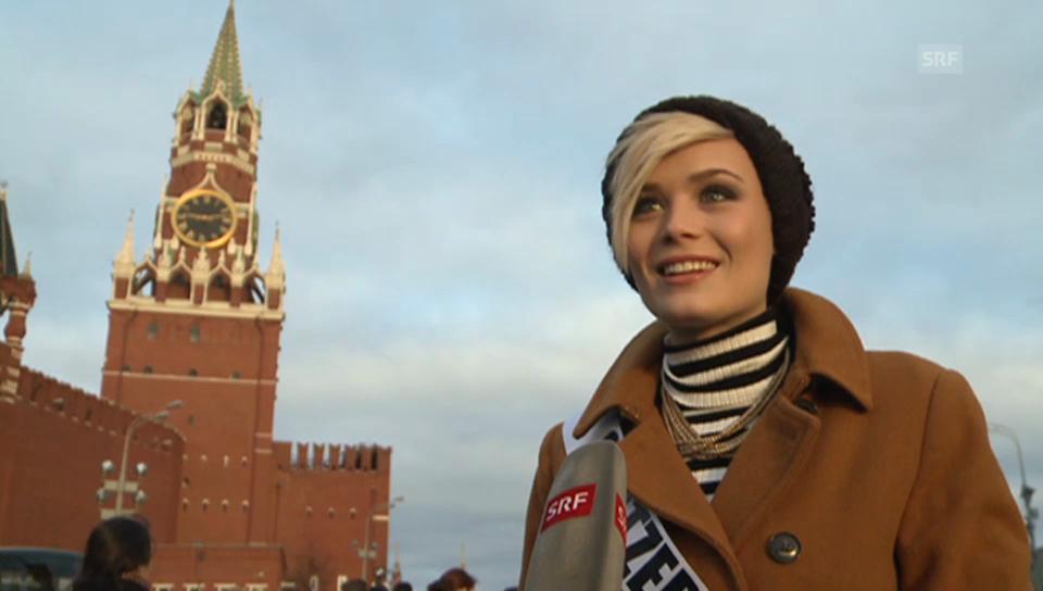 Dominique Rinderknecht über Moskau
