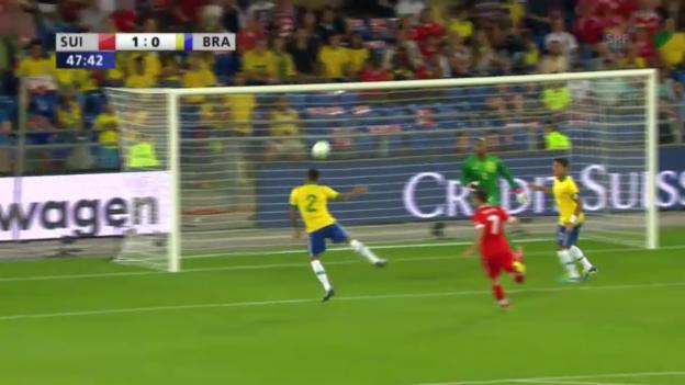 Video «Highlights Schweiz-Brasilien («sportlive»)» abspielen