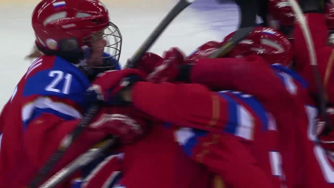 Highlights Russland-Schweden (13.02.14)