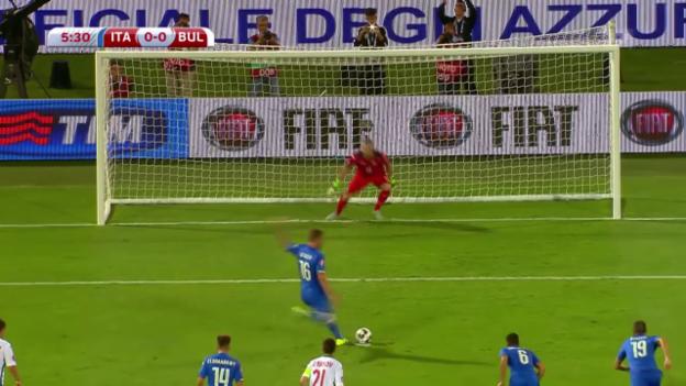 Video «Fussball: EURO-Quali, Italien-Bulgarien» abspielen