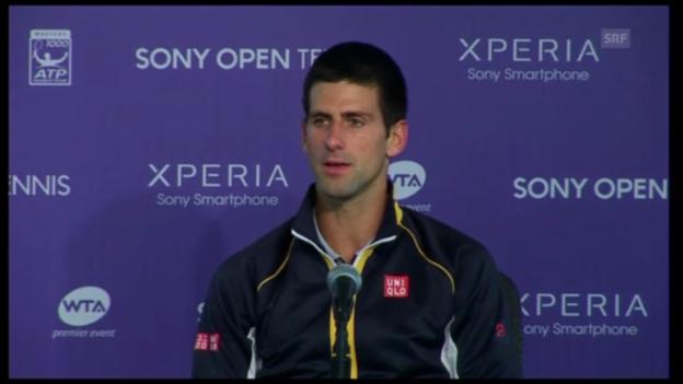 Video «ATP Miami: Djokovic - Haas» abspielen