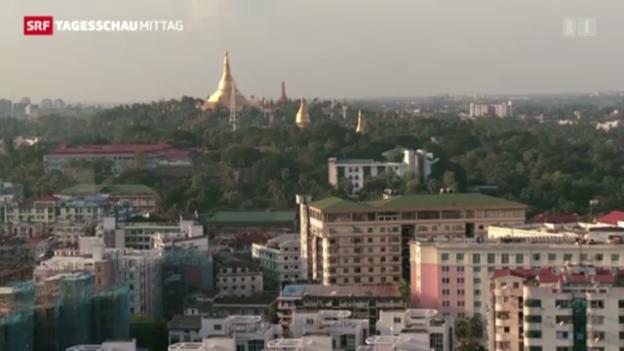 Video «Schweizer Hilfe für Burma» abspielen