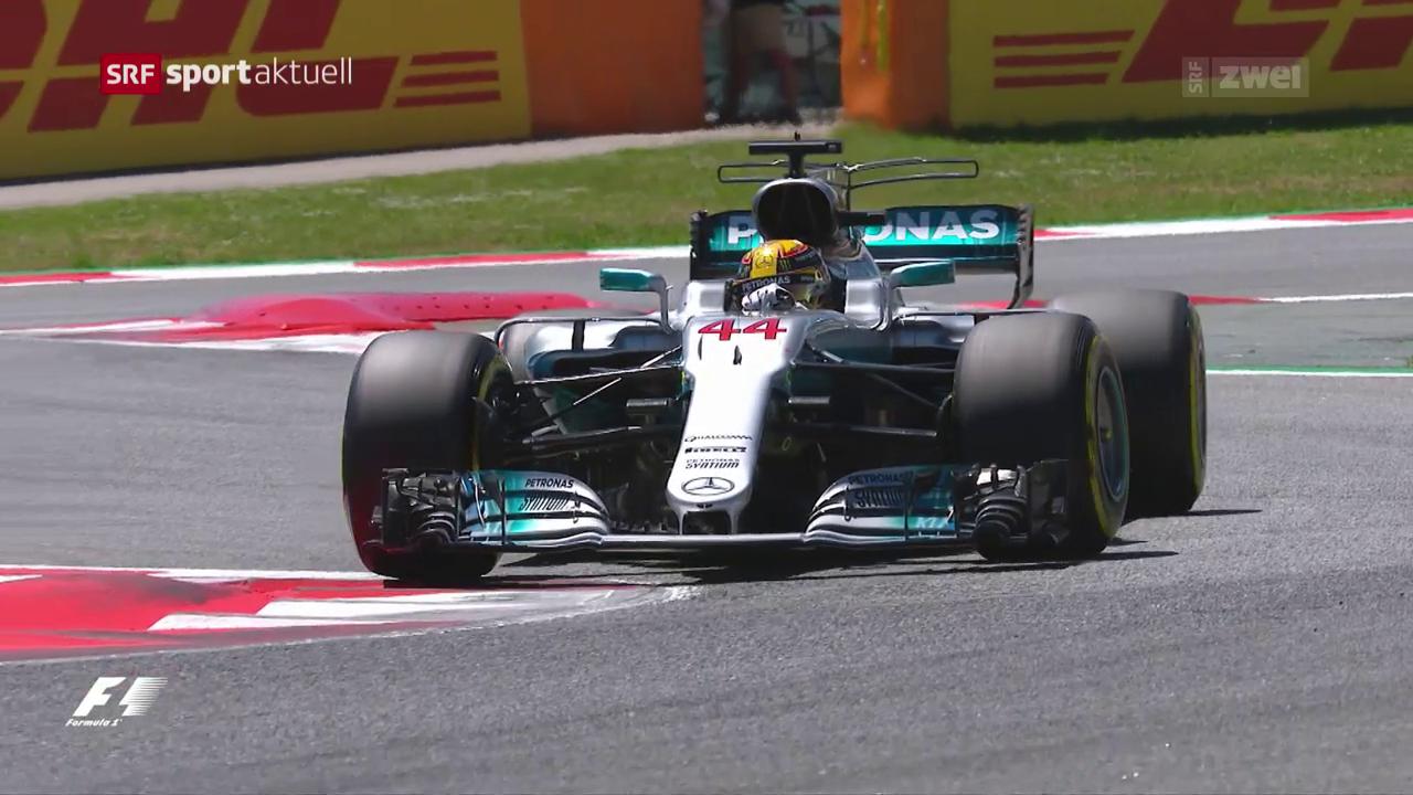 Hamilton rast mit Streckenrekord zur Pole