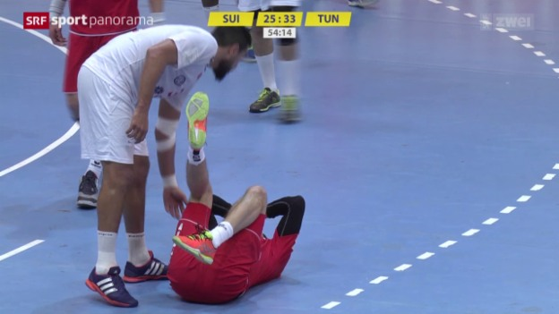 Video «Handball: Yellow Cup in Winterthur» abspielen