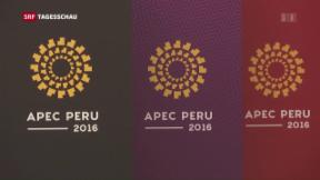 Video «APEC-Gipfeltreffen in Peru» abspielen