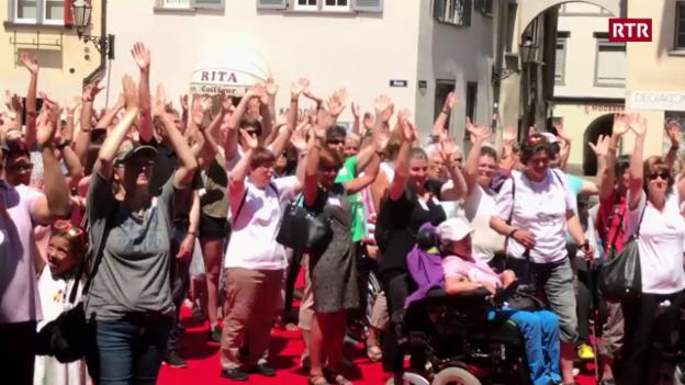 Laschar ir video «Di mundial da sclerosa multipla»
