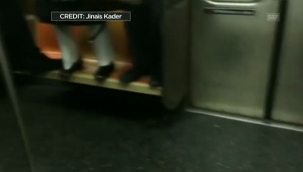 Video «Ratte in U-Bahn» abspielen