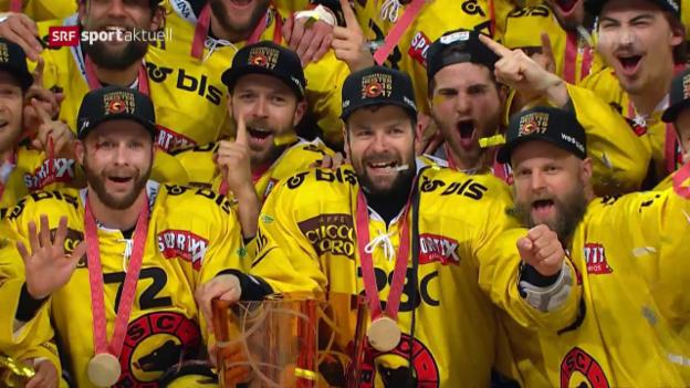 Video «SC Bern schafft die Titelverteidigung» abspielen