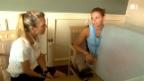 Video «Mirjam kurz vor dem Ausrasten» abspielen