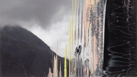 Gerhard Richter im Kunsthaus Zürich - Landschaftsmalereien