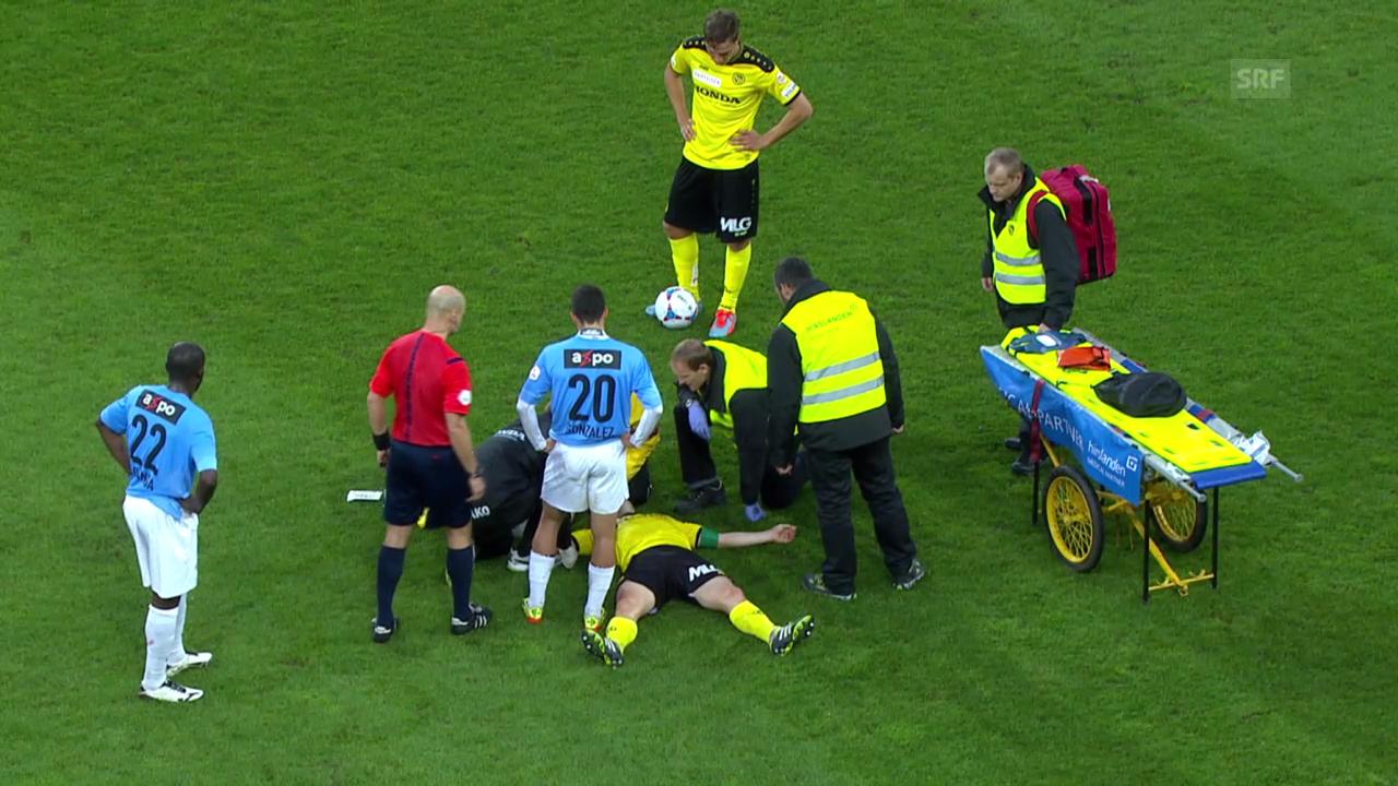 Fussball: Super League: Christoph Spychers Verletzung