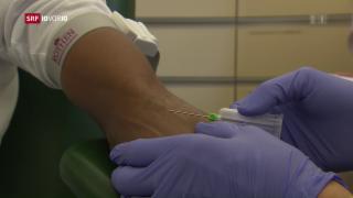 Video «Viele eritreische Flüchtlinge leiden unter Krankheiten» abspielen