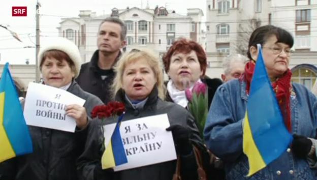 Video «Ukraine vor entscheidender Woche» abspielen
