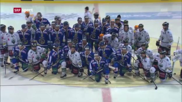 Video «Eishockey: Viel Solidarität mit Ronny Keller» abspielen