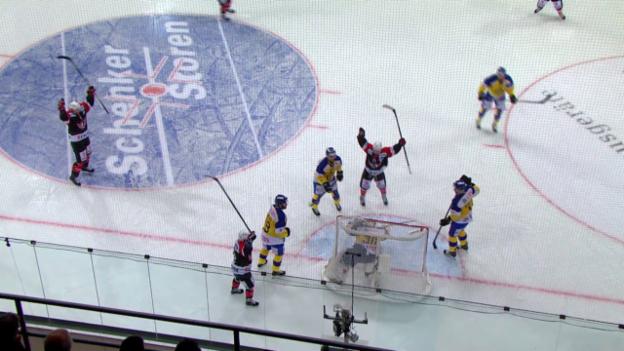 Video «Eishockey: Spengler Cup, Davos-Jekaterinburg, Zusammenfassung» abspielen