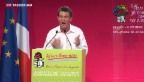 Video «Valls' Politik in Frankreich umstritten» abspielen