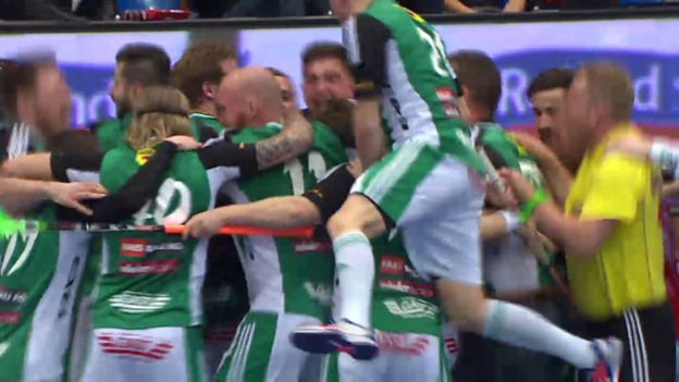 Video «Unihockey: NLA, Playoff-Final, Live-Highlights Wiler-Ersigen - Malans» abspielen