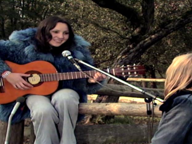 Video «Erster Fernsehauftritt mit «The House Carpenter»» abspielen