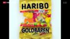 Video «Lindt gegen Haribo: Der Goldbär bleibt bestehen» abspielen