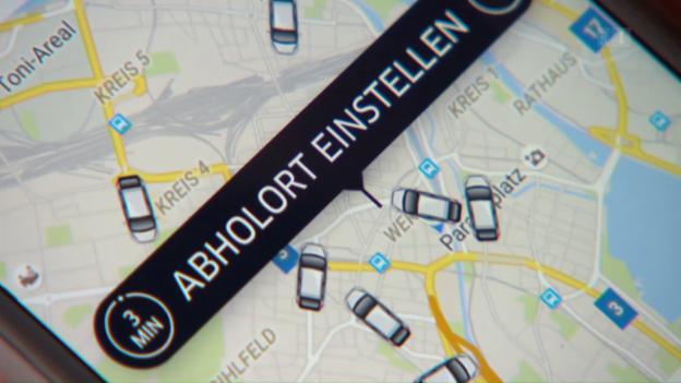Video «Uber-Geschäftsmodell in der Schweiz am Ende?» abspielen