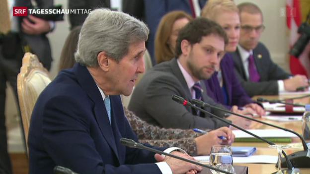 Video «Kerry sucht nach Konsens» abspielen