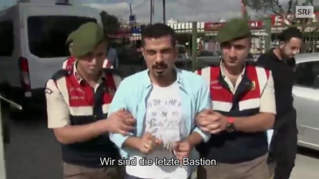 Video «95 Prozent der Medien sind unter der Kontrolle Erdogans» abspielen