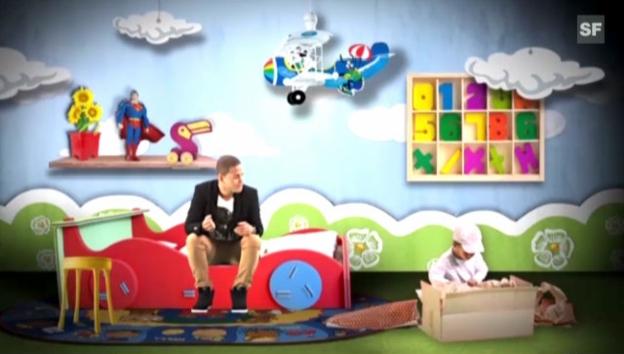 Video «Jesse Ritch will mit «Forever & a day» an den ESC 2013» abspielen