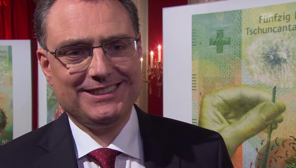 2016 erklärt SNB-Präsident Jordan den Entscheid für die 9. Serie