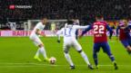 Video «FC Basel gewinnt gegen FC Zürich» abspielen