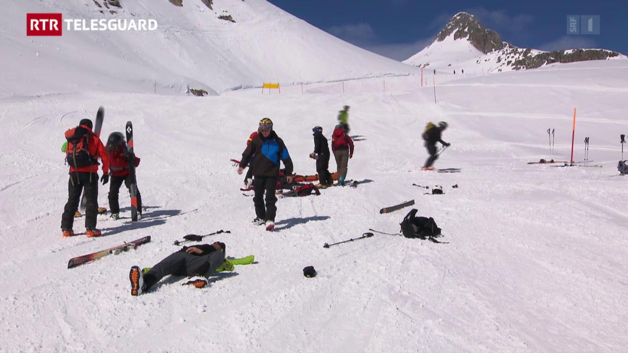 Ils policists dal Grischun fan ina scolaziun alpina
