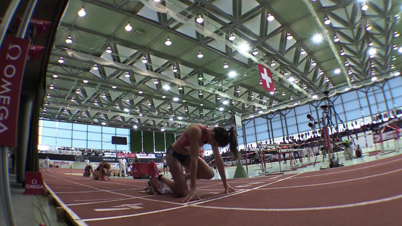 Sprunger läuft Hallenrekord