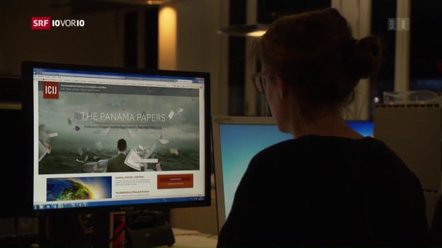 Video ««Panama Papers»-Datenbank ist online» abspielen
