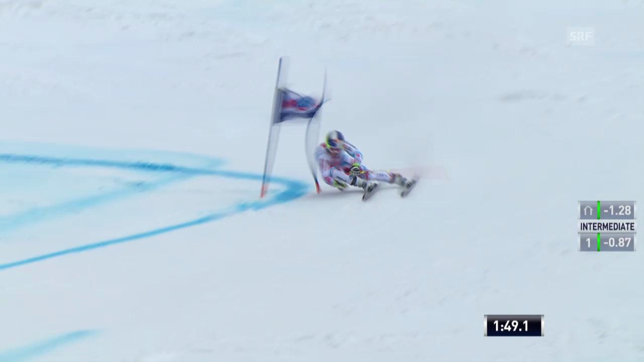 Ski: Riesenslalom Lenzerheide, Der 2. Lauf von Alexis Pinturault («sportlive», 15.03.2014)