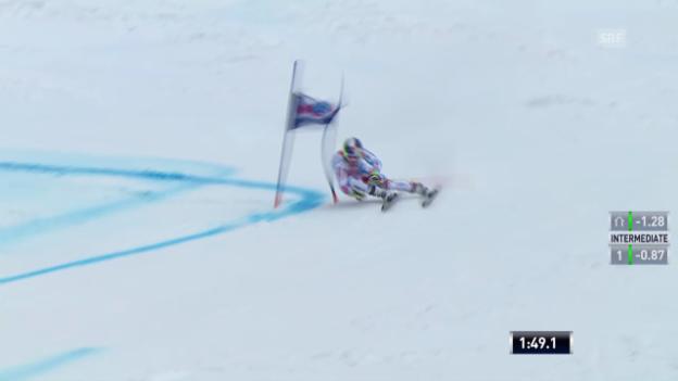 Video «Ski: Riesenslalom Lenzerheide, Der 2. Lauf von Alexis Pinturault («sportlive», 15.03.2014)» abspielen