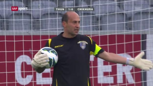 Video «Fussball: Thun in der EL-Quali» abspielen