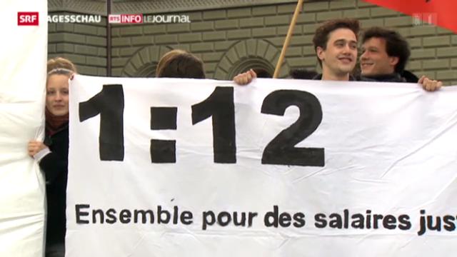 Nein zur «1:12»-Initiative